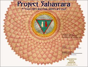 PROJECT SAHASRARA
