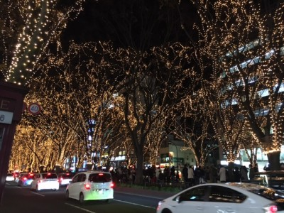 12月に毎年仙台で行われるイルミネーションイベント、「光のページェント」とっても綺麗です☆