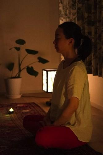 牟尼草庵クラス・瞑想