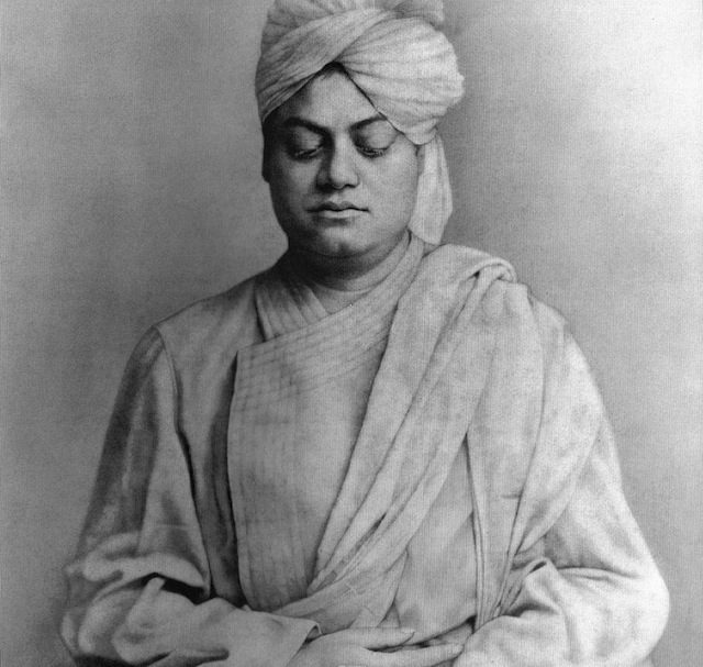vivekananda in meditation