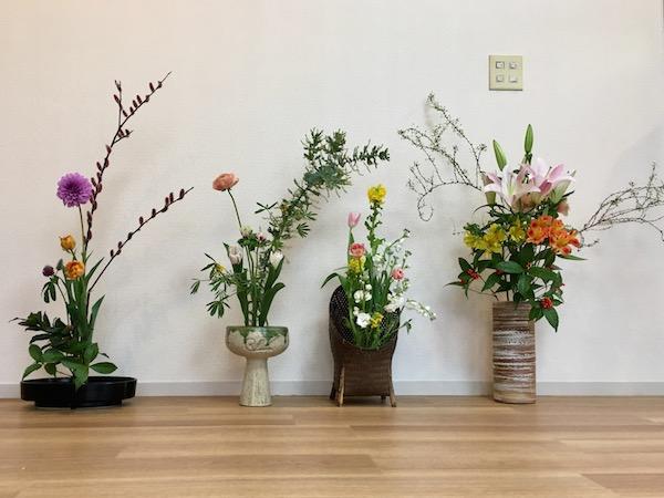 20170122生け花展覧会