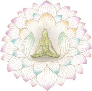 千弁の蓮の花弁